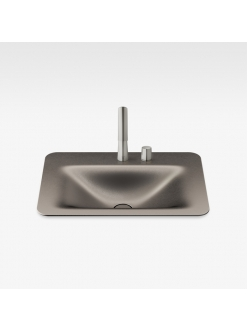Armani Roca Baia – Раковина встраиваемая сверху 66 см, shagreen dark metallic (3270C2R72)