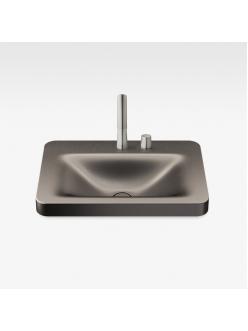 Armani Roca Baia – Раковина встраиваемая сверху 66 см, shagreen dark metallic (3270C6R72)