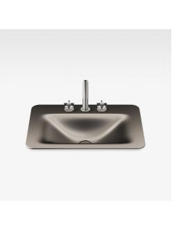 Armani Roca Baia – Раковина встраиваемая сверху 66 см, dark metallic (3270C2R43)