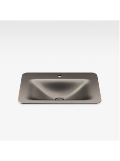 Armani Roca Baia – Раковина встраиваемая сверху 66 см, shagreen dark metallic (3270C2R70)
