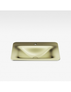 Armani Roca Baia Раковина встраиваемая сверху 66 см с 1 отв., shagreen matt gold