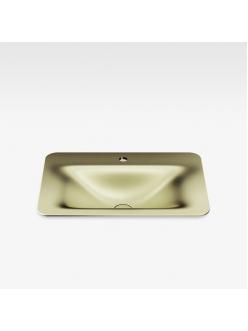 Armani Roca Baia – Раковина встраиваемая сверху 66 см, shagreen matt gold (3270C2R90)
