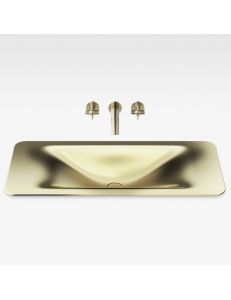 Armani Roca Baia Раковина встраиваемая сверху 90 см, matt gold