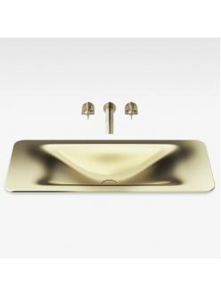 Armani Roca Baia – Раковина встраиваемая сверху 90 см, matt gold (3270C1R80)