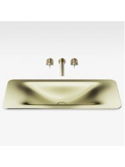 Armani Roca Baia – Раковина встраиваемая сверху 90 см, shagreen matt gold (3270C1R90)
