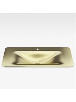 Armani Roca Baia – Раковина встраиваемая сверху 90 см, matt gold (3270C0R80)