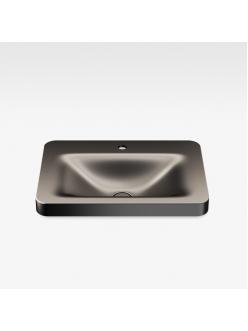 Armani Roca Baia – Раковина встраиваемая сверху 66 см, dark metallic (3270C6R40)