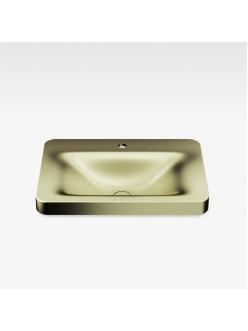 Armani Roca Baia – Раковина встраиваемая сверху 66 см, shagreen matt gold (3270C6R90)