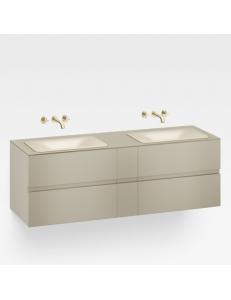 Armani Roca Baia Тумба подвесная для 2 раковин с 4 ящиками 179,4 см