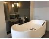 Armani Roca Baia – Ванна отдельностоящая с 4 ручками, белый/brushed steel (24844800V)