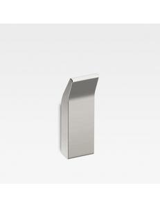 Armani Roca Island Крючок одинарный настенный, brushed steel