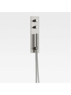 Armani Roca Island 5258823VS – Встроенный комплект для душа brushed steel