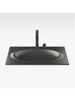 Armani Roca Island 327760R50 – Раковина встраиваемая сверху 77 см, цвет nero