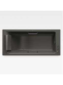 Armani Roca Island 248244R5G – Встраиваемая ванна 180 см с термостатом, цвет nero