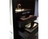 Armani Roca Baia – Раковина встраиваемая сверху 90 см, dark metallic (3270C1R40)