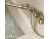Armani Roca Island 248201R3C – Встраиваемая ванна 212 см с термостатом, цвет greige