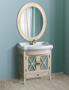 Атолл Ретро Ivory Old Комплект мебели для ванной, слоновая кость состаренный