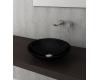 Bocchi Lucca Venezia 1120-005-0125 Раковина накладная, черный глянец 005