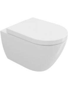 Bocchi Venezia Rimless 1295-001-0129 Унитаз подвесной, белый