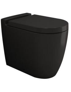 Bocchi Venezia 1301-004-0129 Унитаз приставной, черный матовый