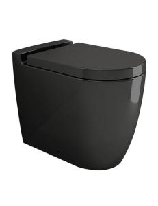 Bocchi Venezia 1301-005-0129 Унитаз приставной, черный глянец