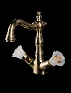 Boheme Camelia Gold 292-Camelia Смеситель для умывальника, высокий