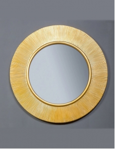 Boheme Shine 528-G light Зеркало с подвсветкой, золото