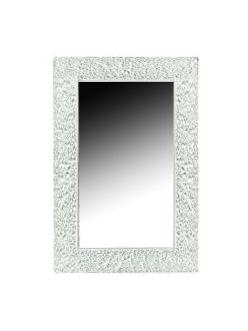 Boheme Aura 537 Зеркало с подсветкой в багетной раме (белый глянец)