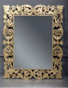 Boheme Caprice 553 Зеркало с подсветкой, золото поталь