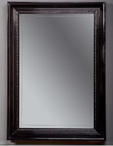 Boheme Terso 557 Зеркало с подсветкой, черный глянец