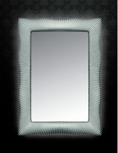 Boheme Soho 564 Зеркало с подсветкой, серебро