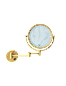 Boheme Imperiale 503 Косметическое зеркало с оптическим увеличением, золото