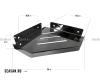 Boheme New Venturo 10318-Cr Полка угловая настенная (Хром)