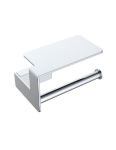 Boheme Q 10941-CR Держатель для туалетной бумаги с полкой, хром