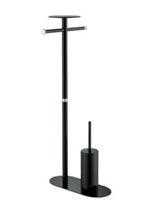 Boheme Q 10953-B-CR Стойка, хром/черный