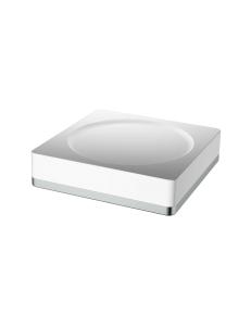 Boheme 10960-W-CR Мыльница, хром/белый