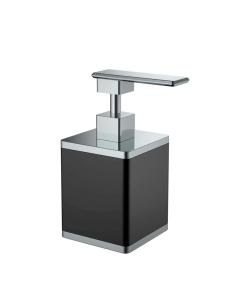 Boheme 10969-B-CR Диспенсер для мыла настольный, черный/хром