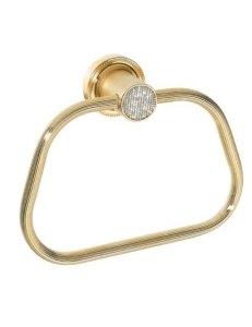 Boheme Royal Crystal 10925-G Держатель для полотенца кольцо