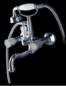 Boheme Royal Crystal 273-CRST Смеситель для ванны, душевой комплект