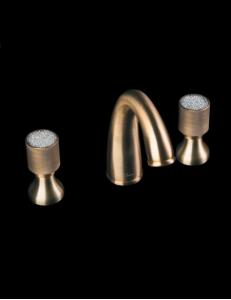 Boheme Royal Cristal 317-CRST Смеситель для раковины на 3 отверстия
