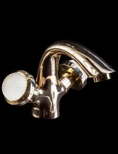 Boheme Satine Gold 291-ST Смеситель для умывальника