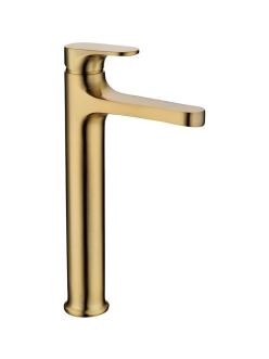 Boheme Spectre 452-Bronze Смеситель высокий для умывальника однорычажный (Бронза)