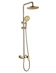 Boheme Spectre 458-G Душевая стойка со смесителем золото