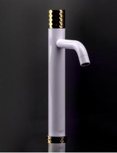 Boheme Stick 122-W Смеситель для умывальника высокий, белый