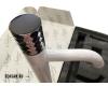 Boheme Stick 122-W Смеситель для умывальника высокий (Белый)