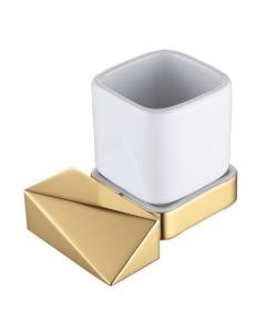 Boheme Venturo 10314-G Стакан для зубных щеток, золото