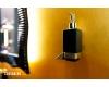 Boheme Venturo 10317-CR-B Диспенсер для мыла настенный (Хром/черный)