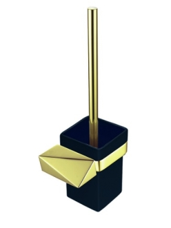 Boheme Venturo 10319-G-B Ершик настенный (Золото/черный)