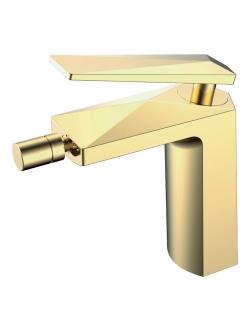 Boheme Venturo 386 Смеситель для биде однорычажный (Золото)