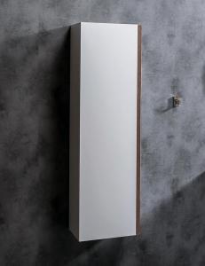 Capolda 35 White Nut – Пенал для ванной подвесной, 120 см